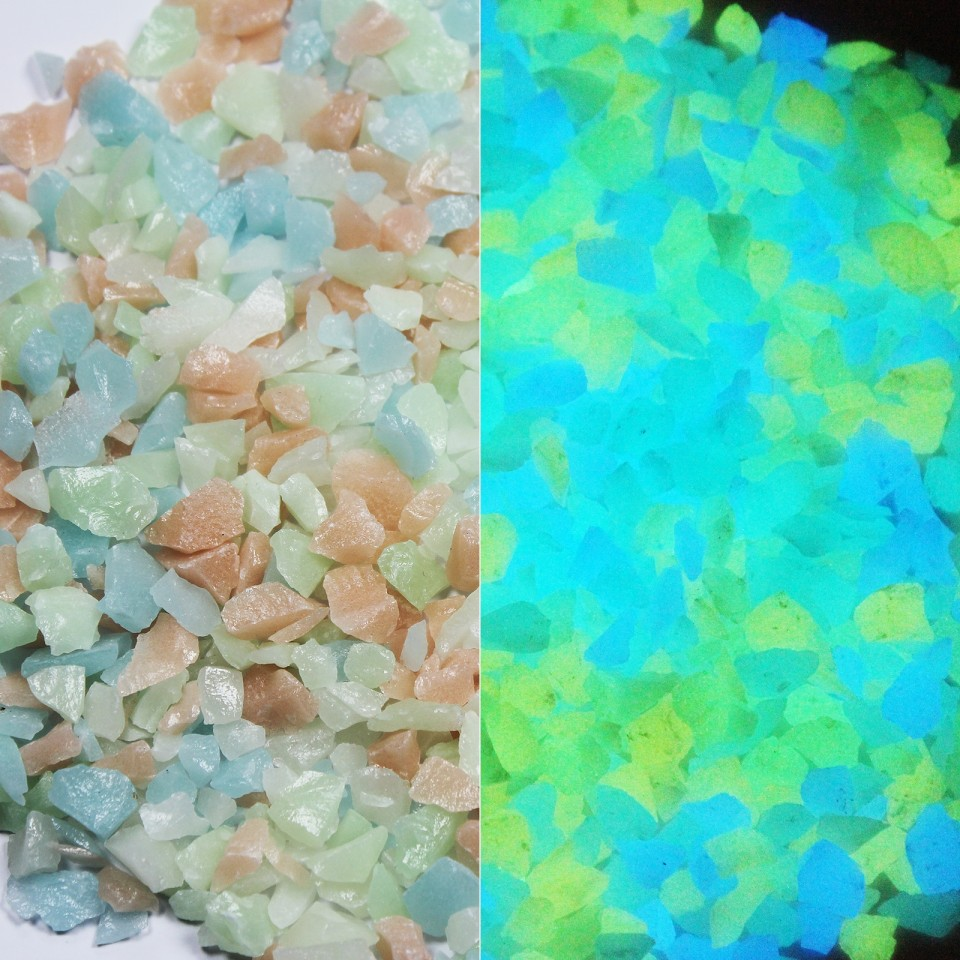 Glow Gravel - Mixed Colours