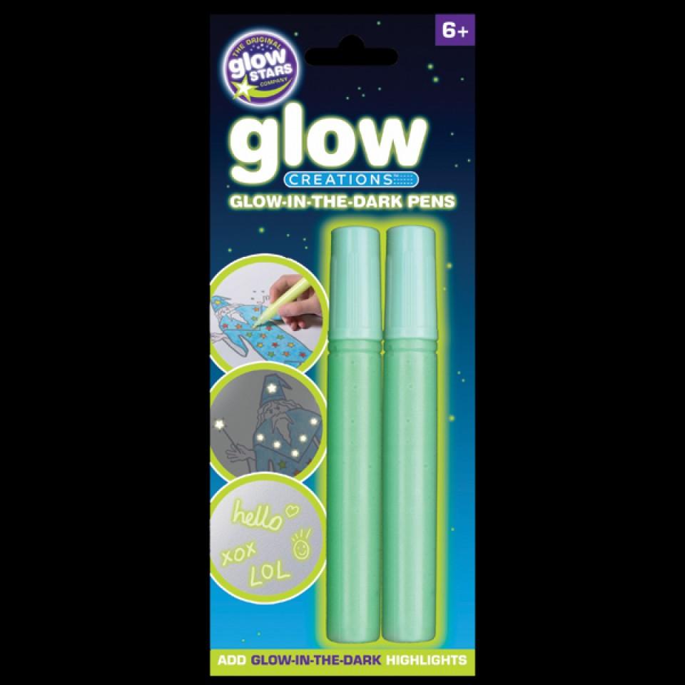 Glow in the Dark Pens - 2 pack