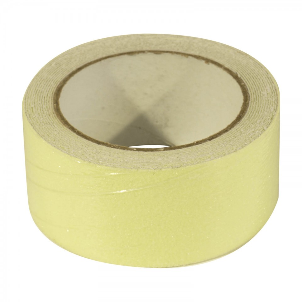 Glow in the Dark Safety Tape Green (5m x 5cm)