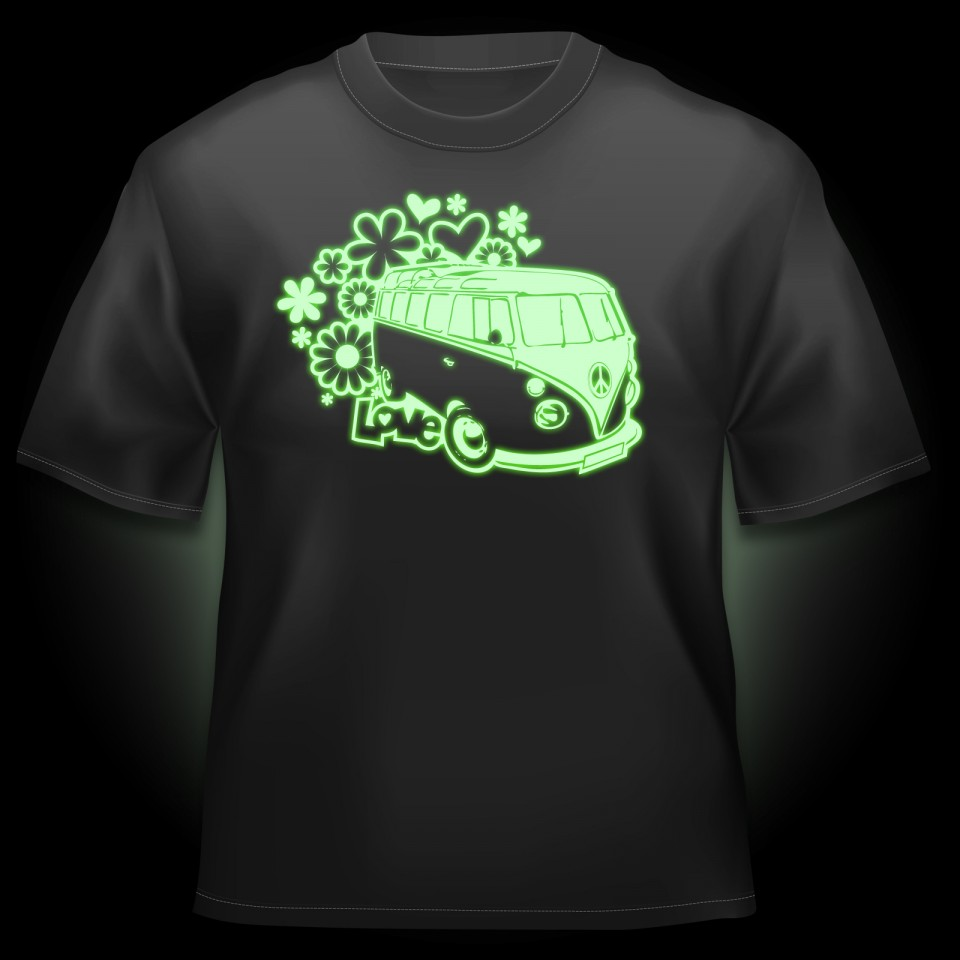 Glow Campervan T-Shirt