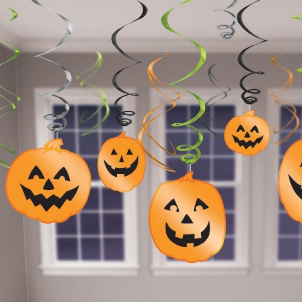 Halloween Hanging Swirl Decorations