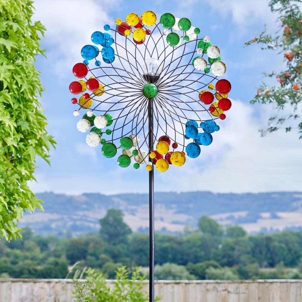 Harlequin Solar LED Wind Spinner