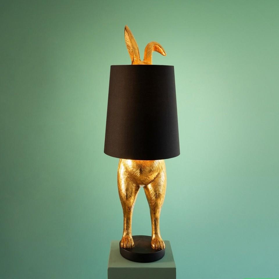 Hiding Bunny Table Lamp