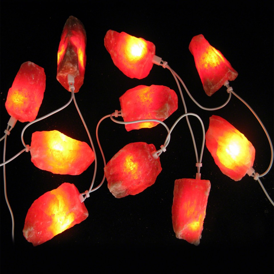 Himalaya Salt Stone Fairy Lights