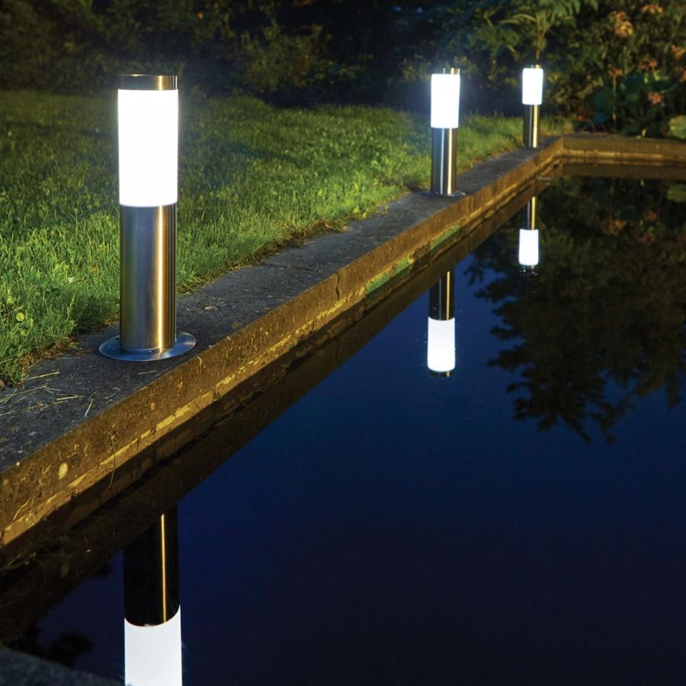 Solar Idaho Post Light