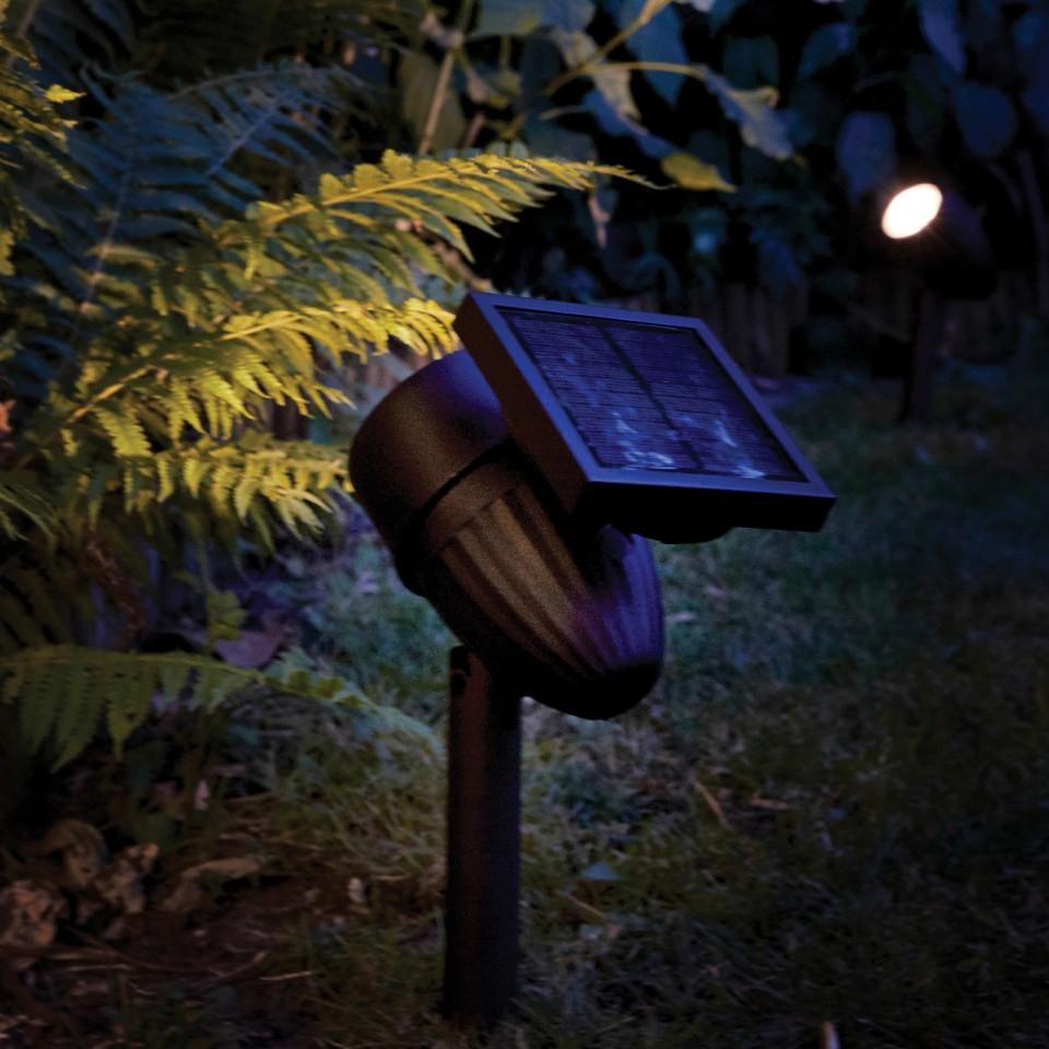 Intelligent Solar Lunar 50 Lumen Spotlight