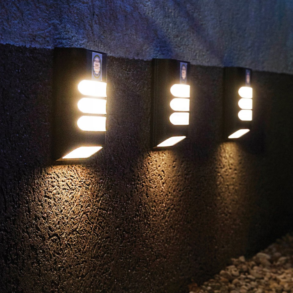 Intelligent Solar Rana Wall Light