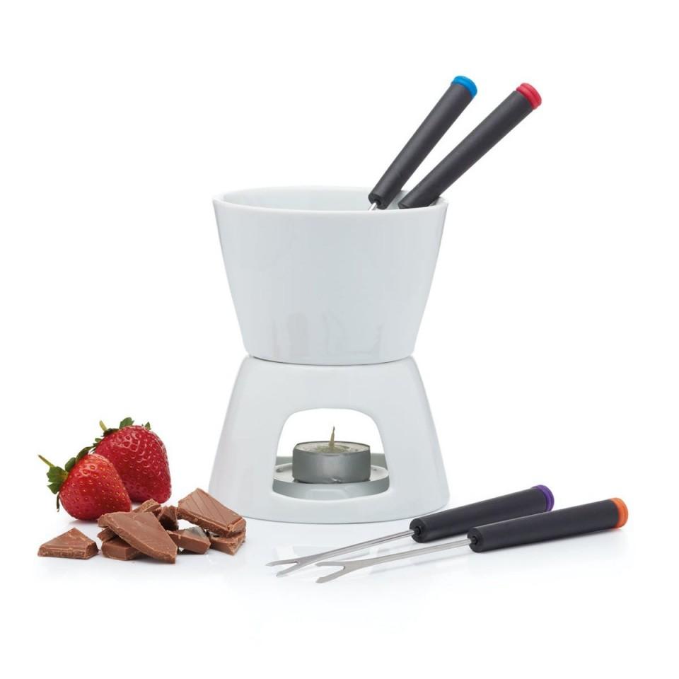 Kitchen Craft Chocolate Fondue Set