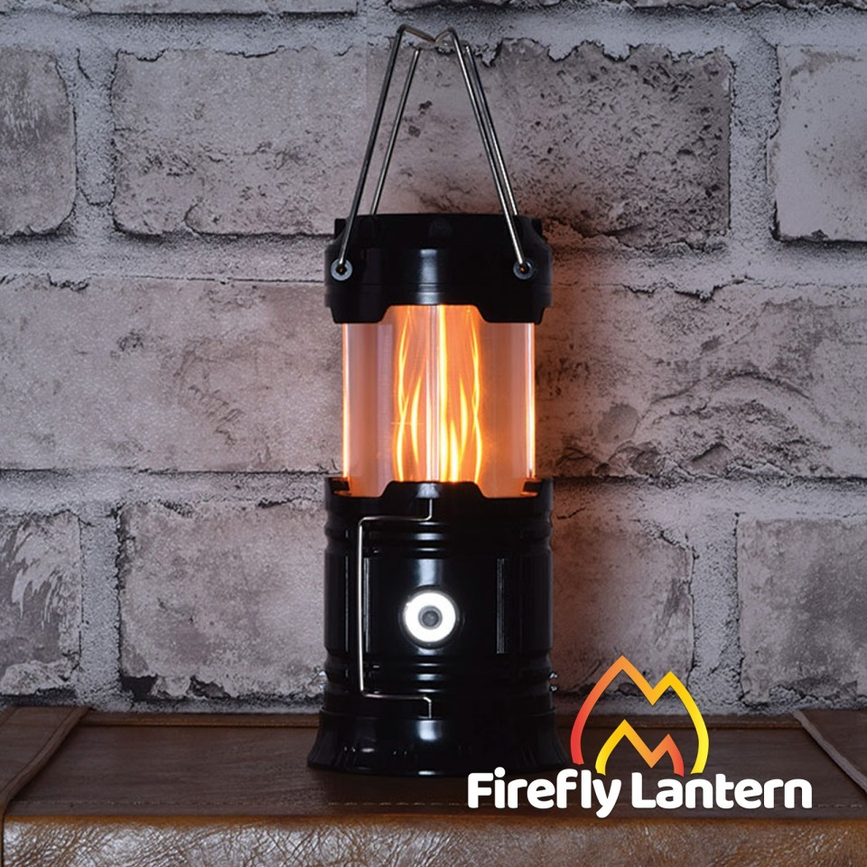 Firefly Flame Effect & LED Lantern and Torch 3 in 1