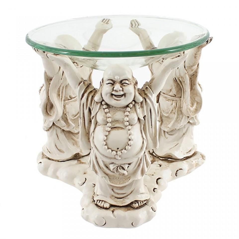 Laughing Buddha Oil Burner & Tealight Holder