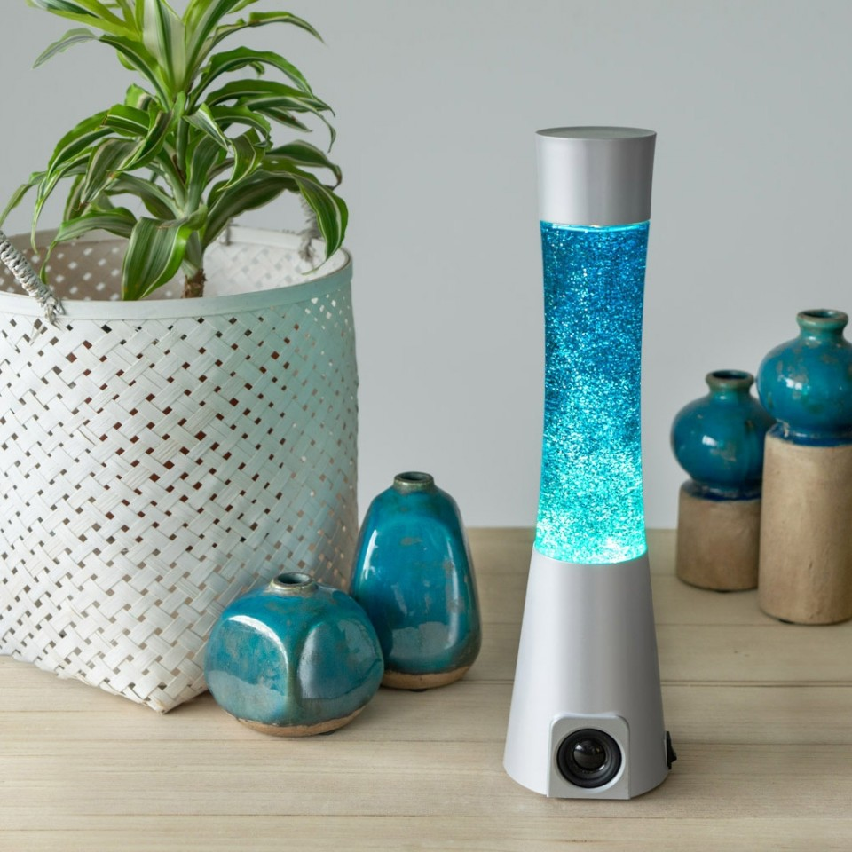 Balvi Glitter Lamp Bluetooth Speaker