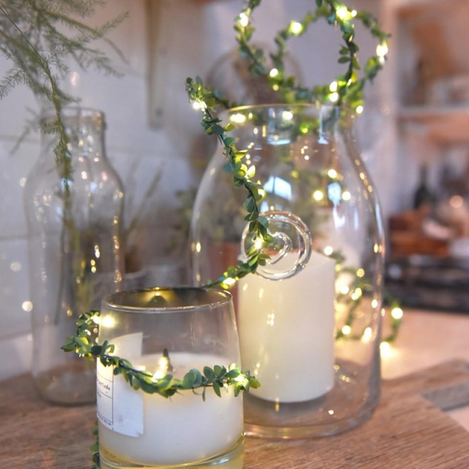 Greenery LED Fairy Light Chain