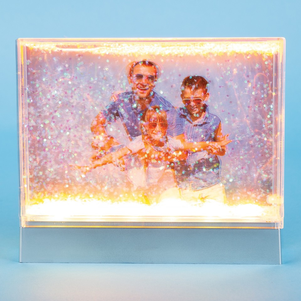 Light Up Glitter Frame
