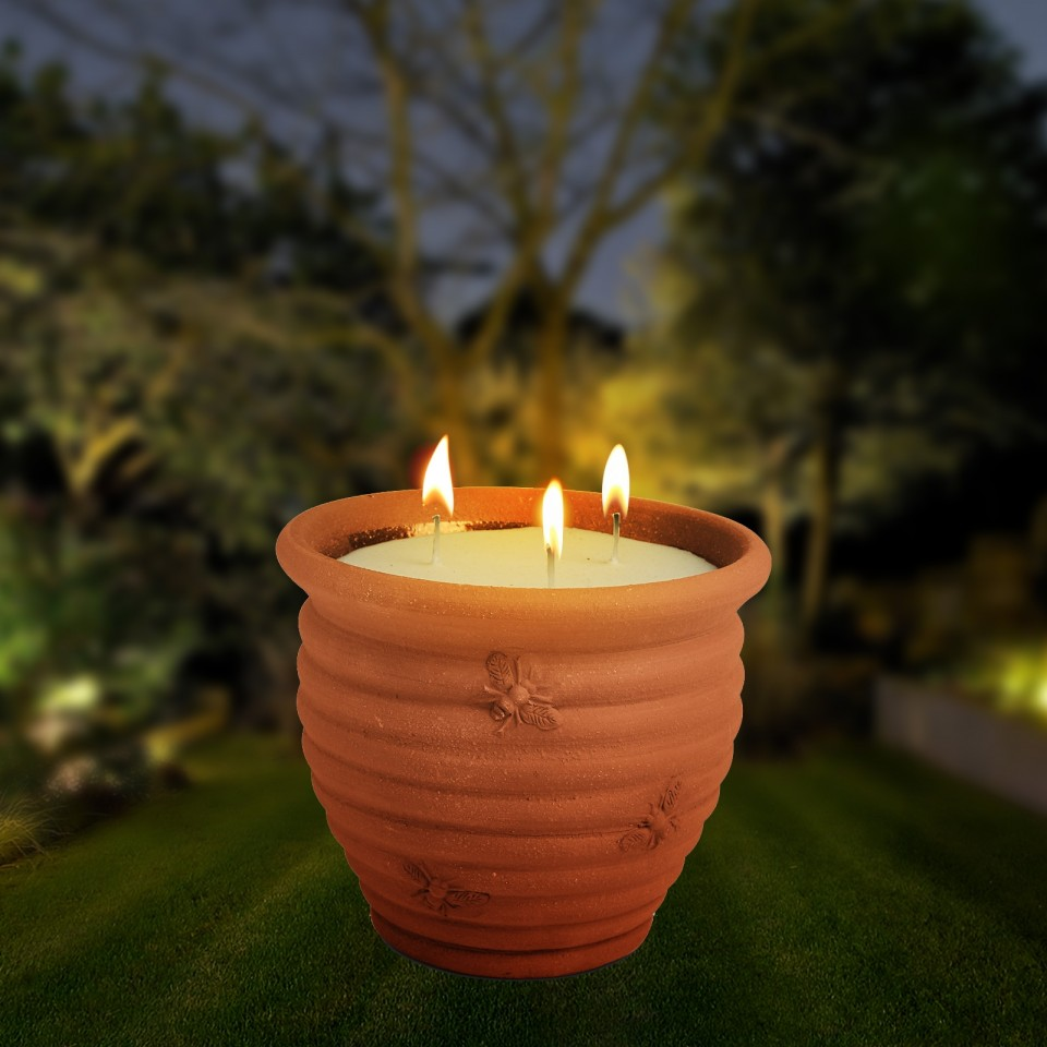 Luxury Large Garden Candle