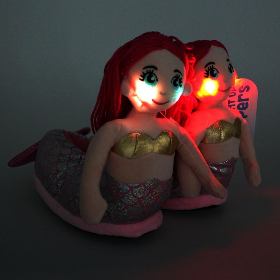Children's Mermaid Slippers (11-4)