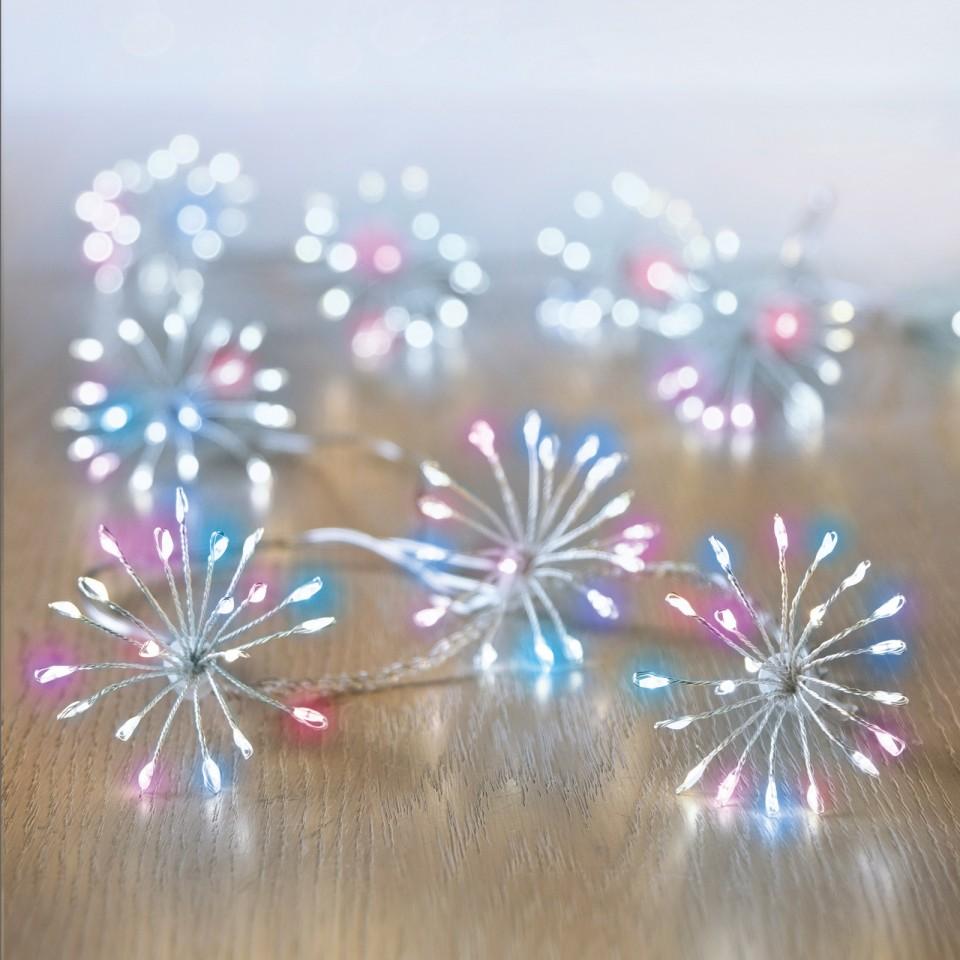 Micro Brights 400 LED Starburst Rainbow Lights