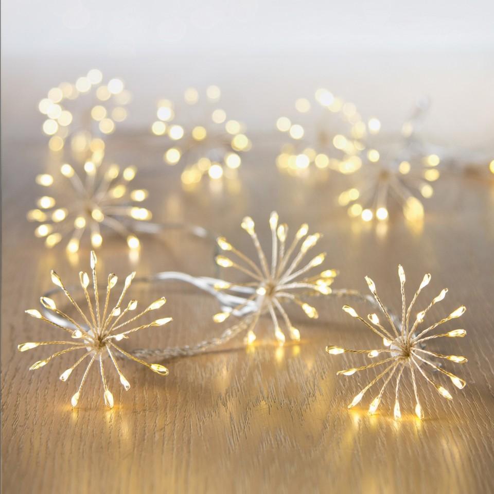 Micro Brights 400 LED Starburst Warm White Lights