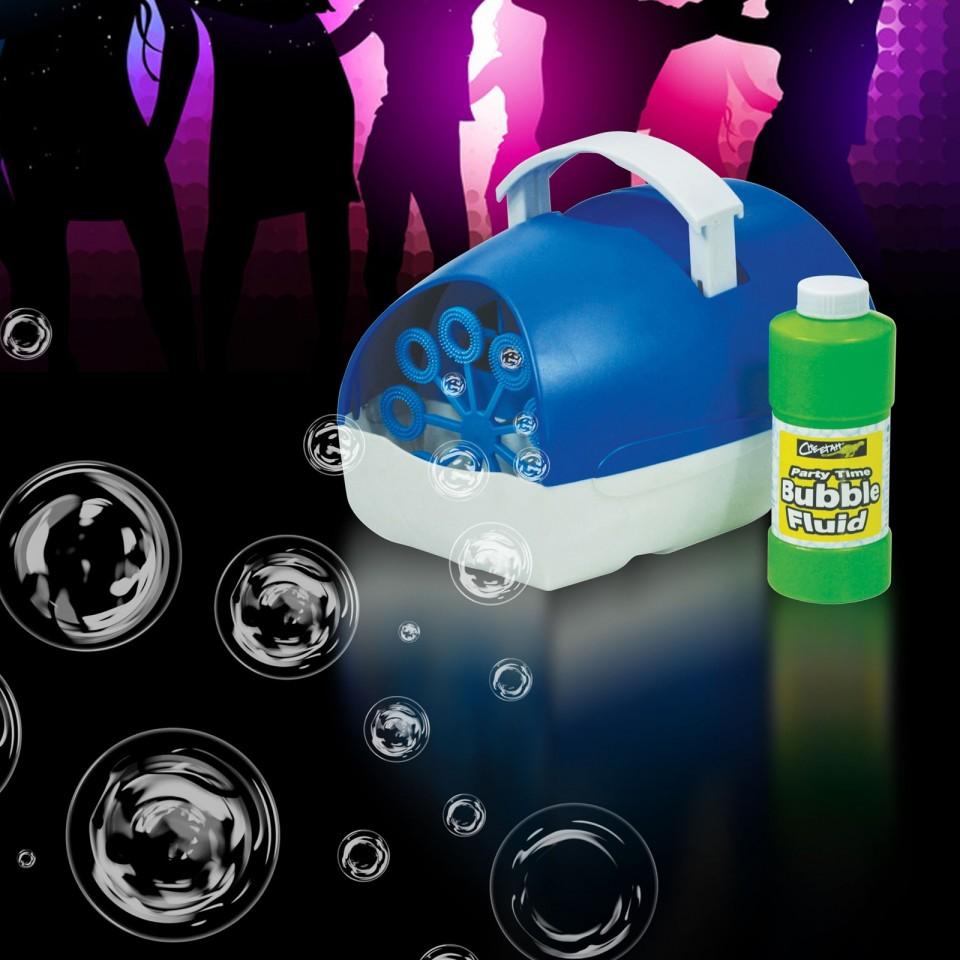 Mini Bubble Machine Blue