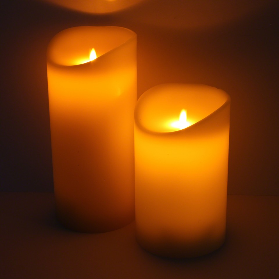 Moving Flame Candle