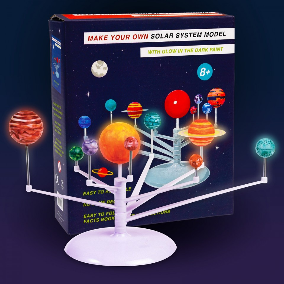 Make Your Own Solar System Model Kit