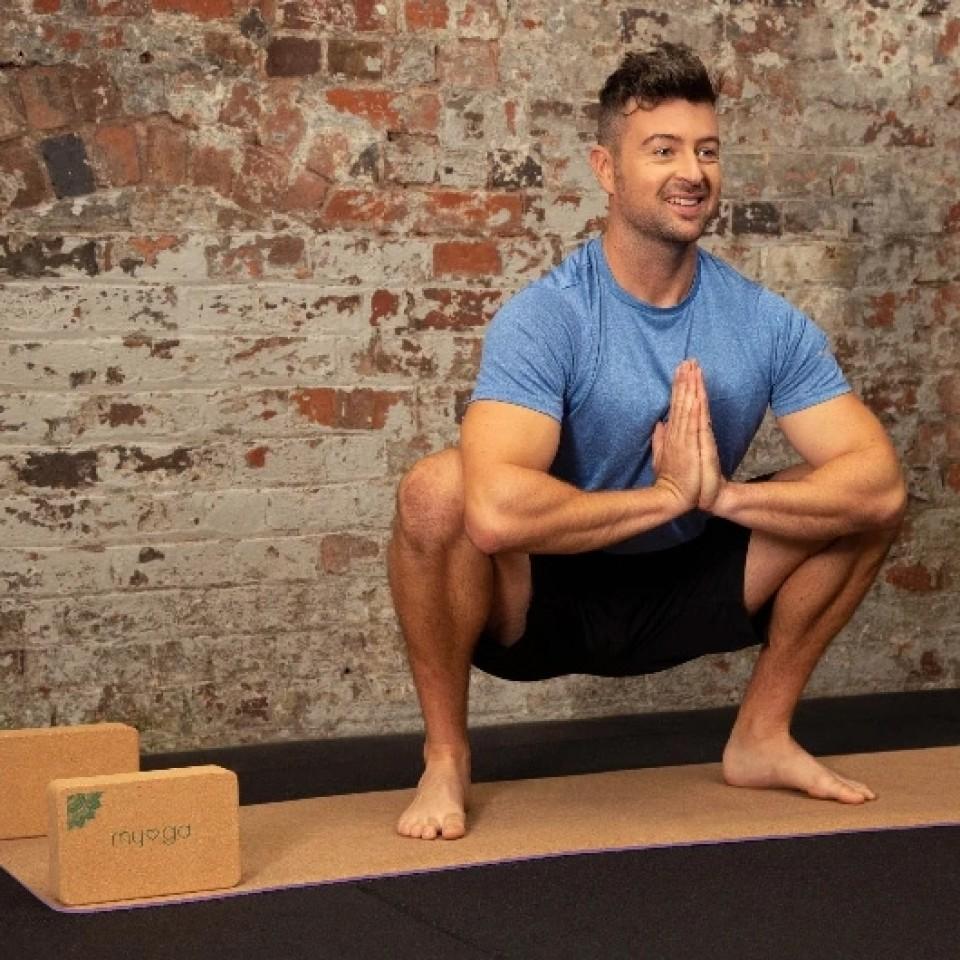 Natural Eco Cork Yoga Mat