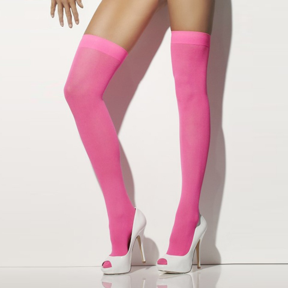 Neon Hold Up Stockings