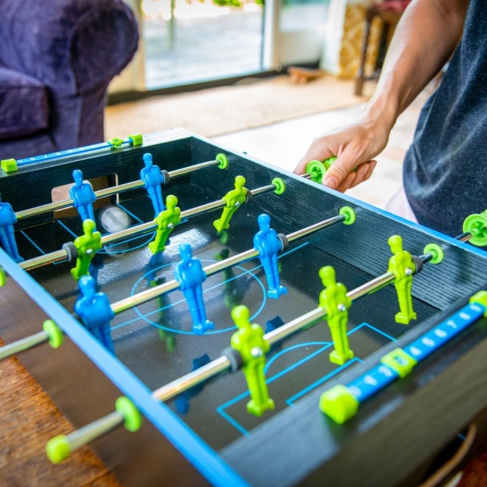 Neon Table Football