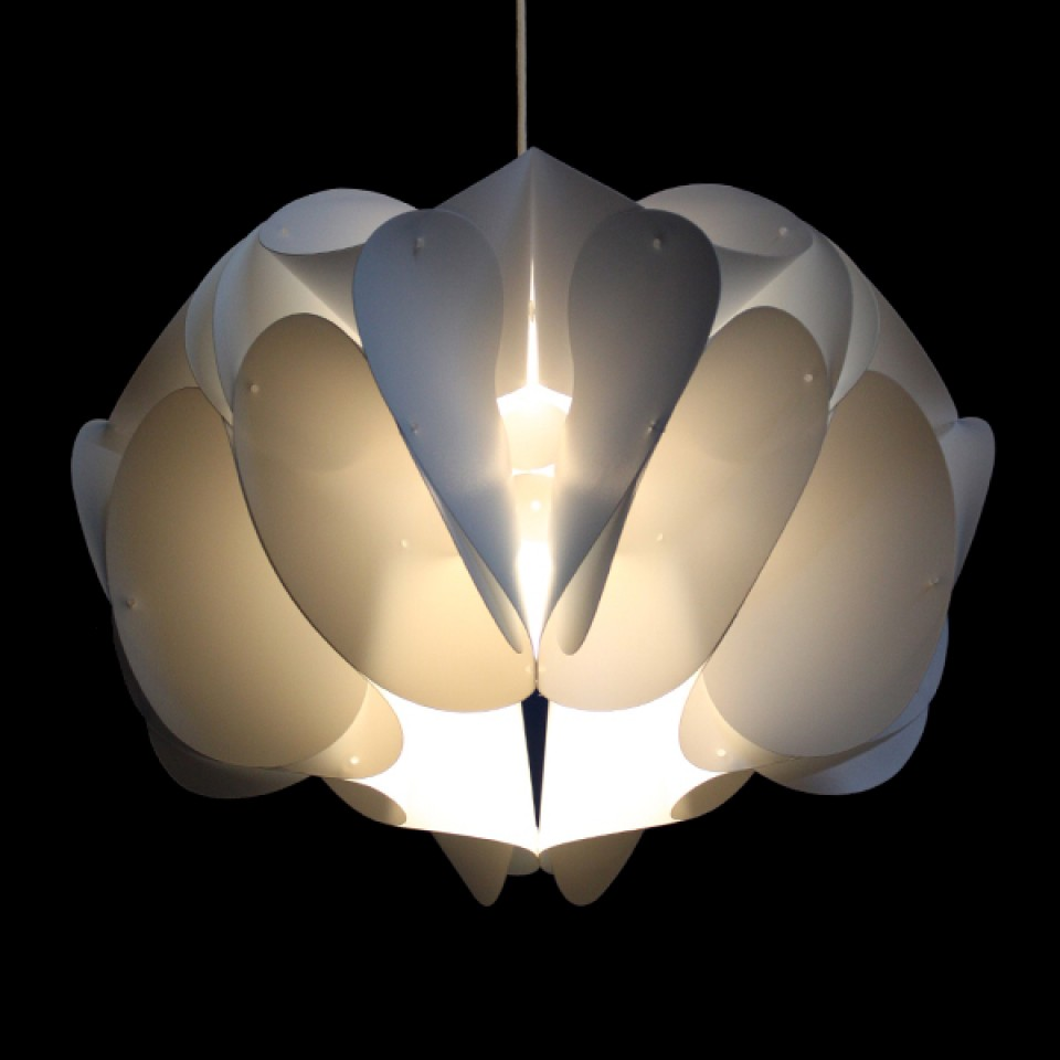 Orchid Lampshade