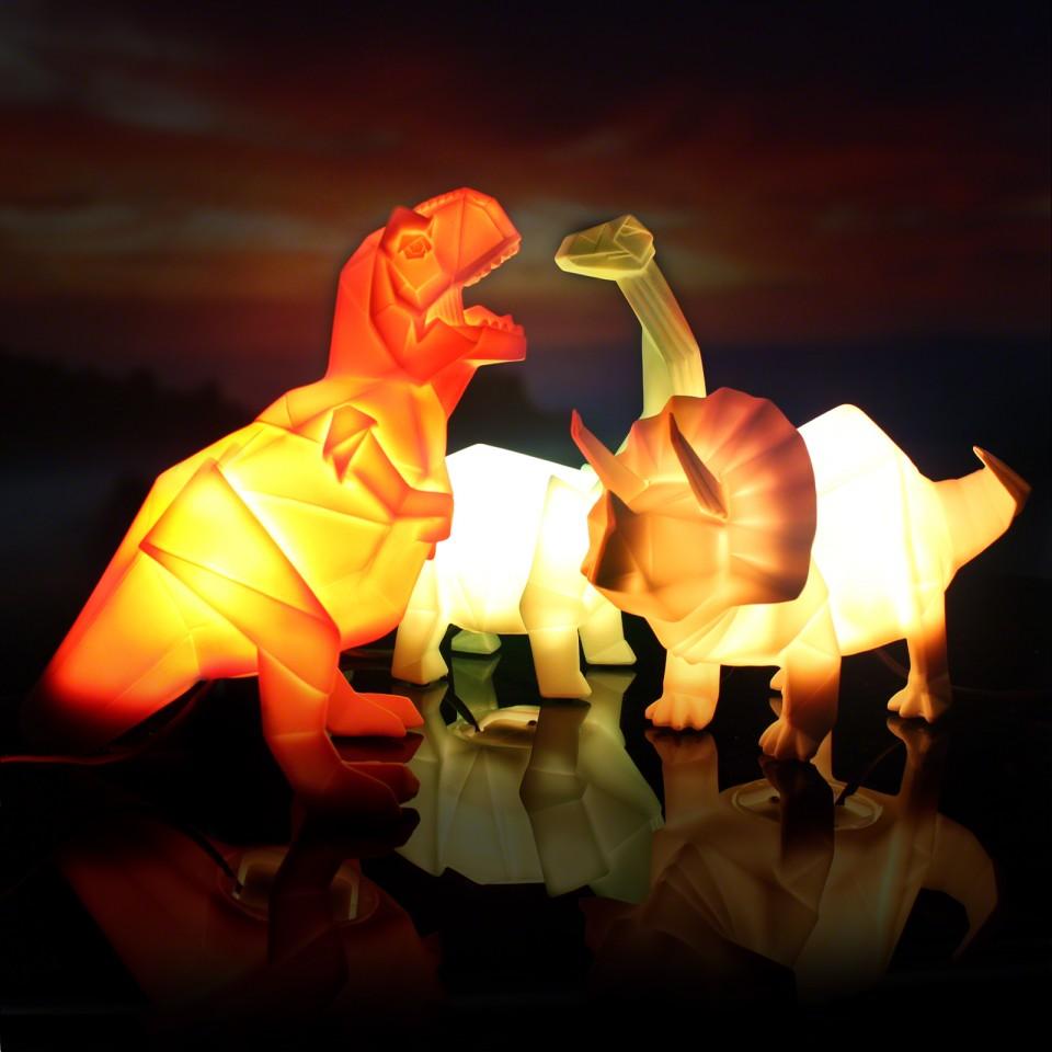 Origami Lamp Dinosaur