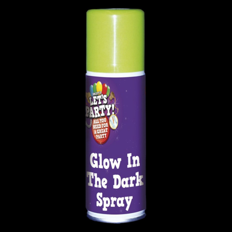 Glow in the Dark Party Spray (3 pack)