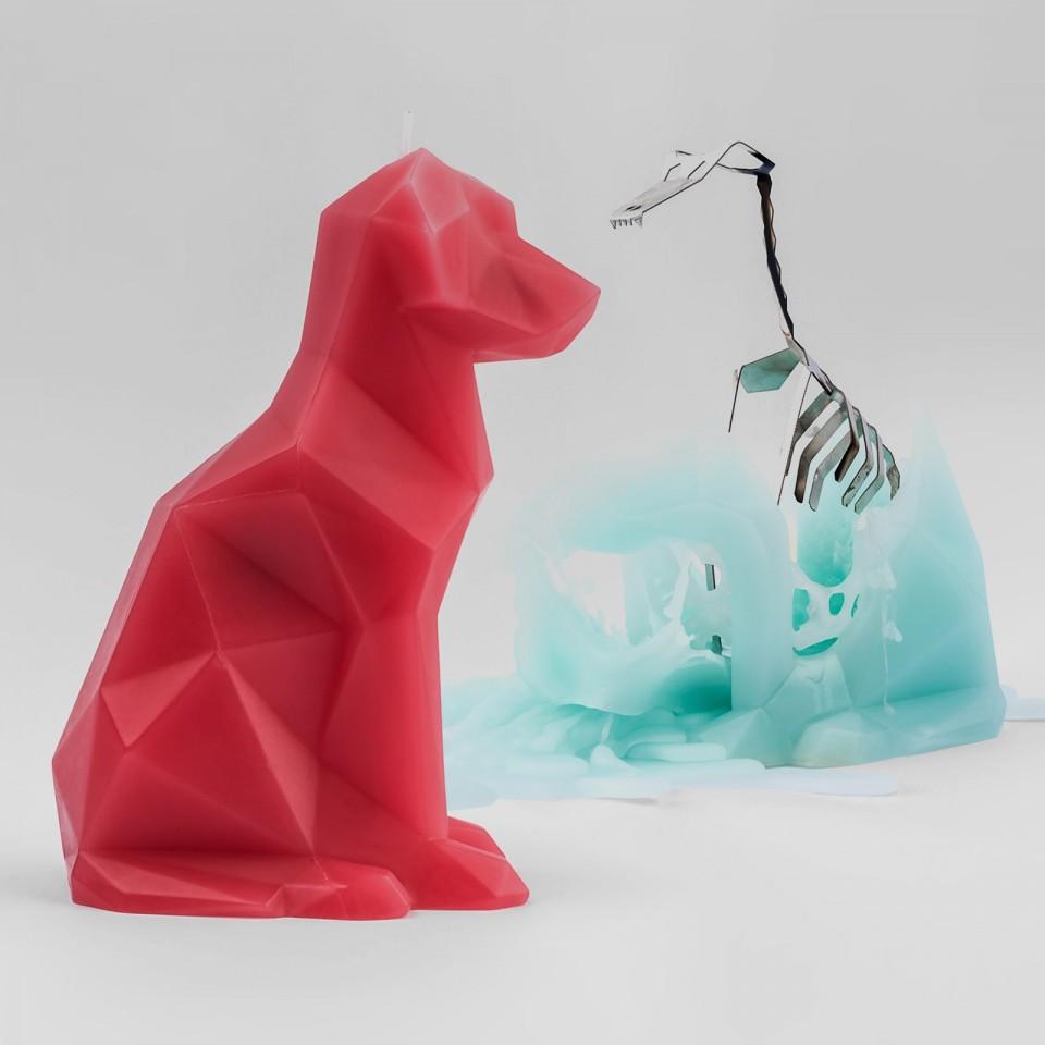 Pyro Pet Voffi Dog Candle