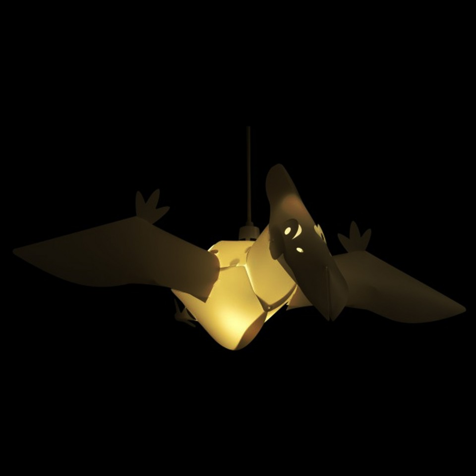 Pterodactyl Pendant Light Shade (19494)