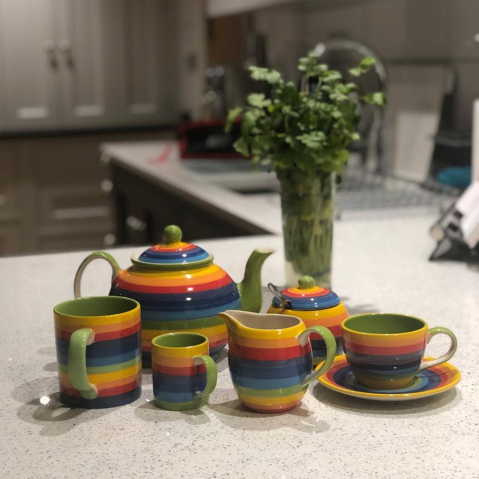 Rainbow Ceramics Tea & Coffee Essentials