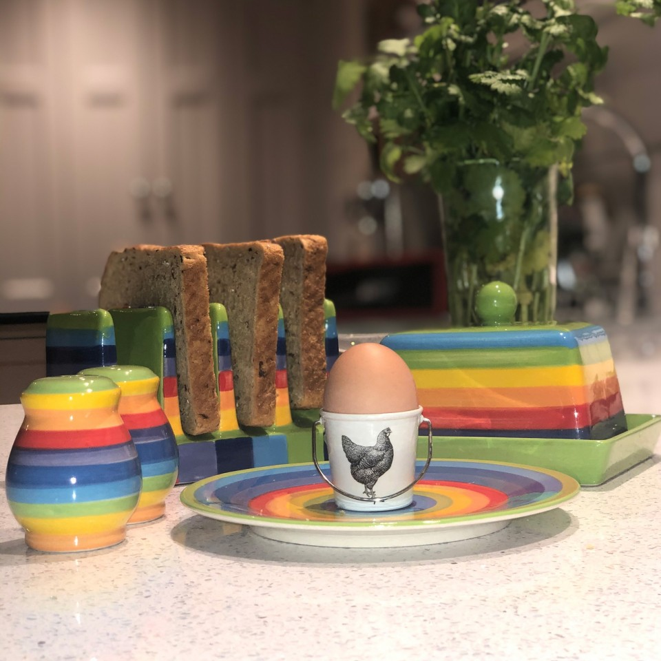 Rainbow Ceramics Breakfast Essentials