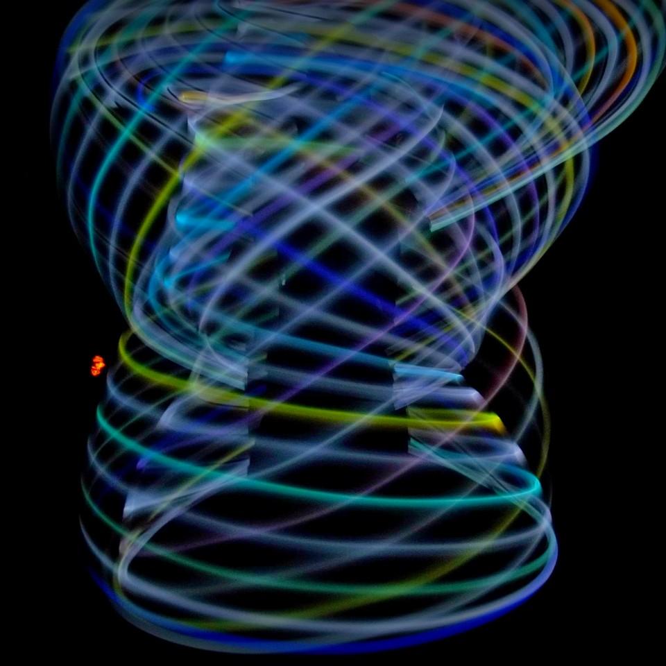 Ice LED Rechargeable LED Hula Hoops
