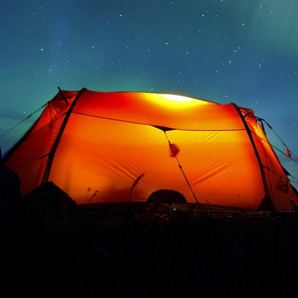 Remote Control Tent Light