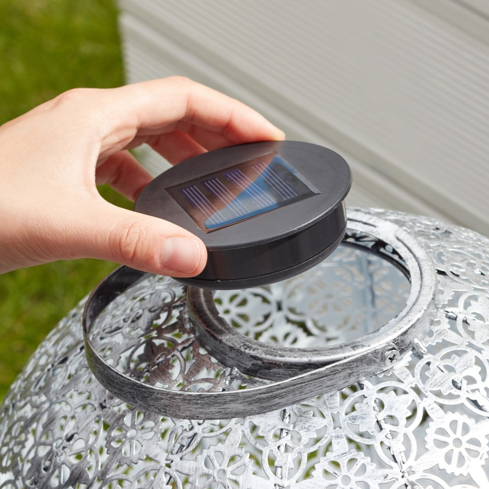 Round Replacement Solar Light for Smart Solar