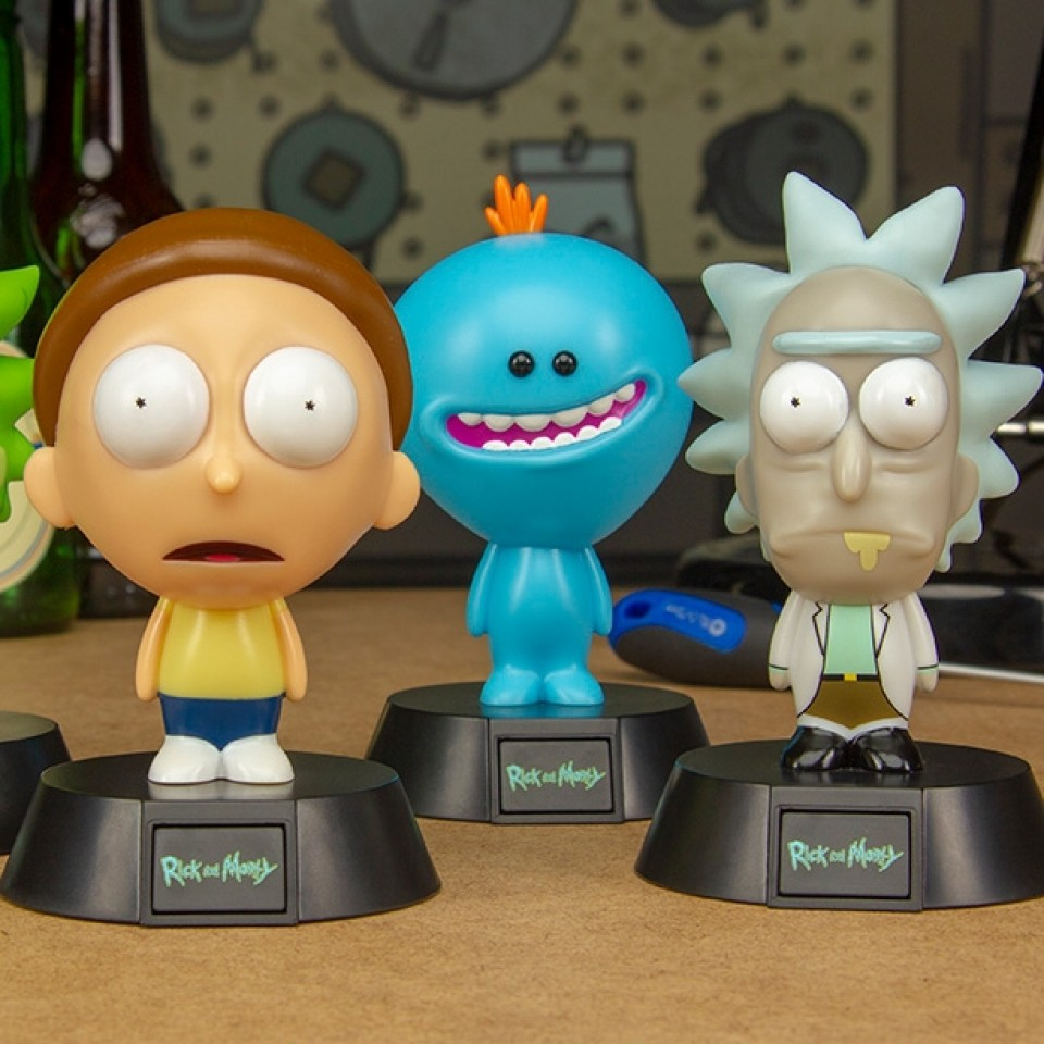 Rick and Morty Icon Lights - Series 1