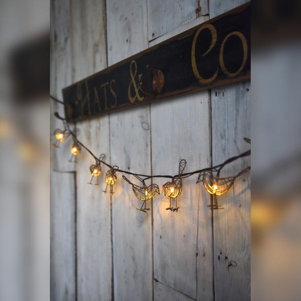 Robin Fairy Lights