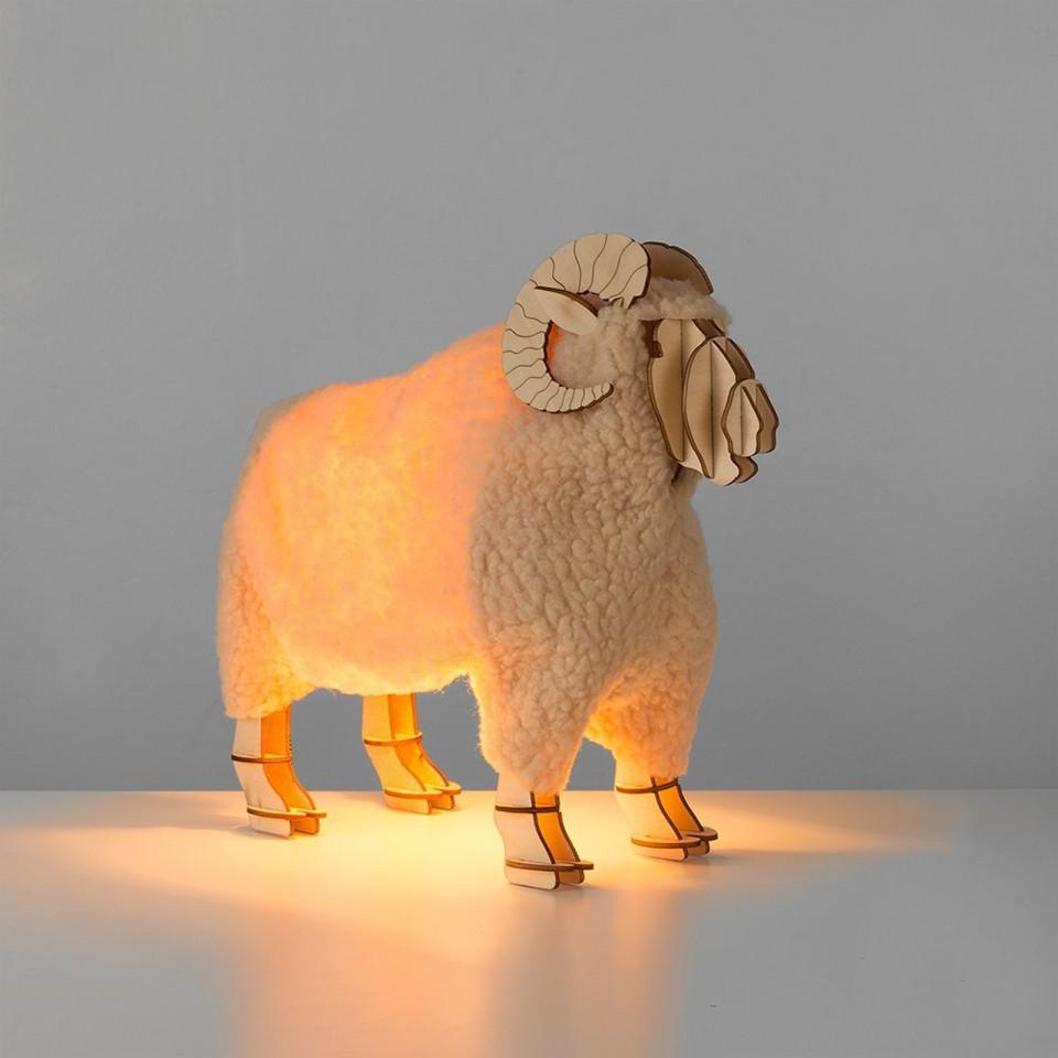 Ronald Designer Ram Table Lamp (20110)