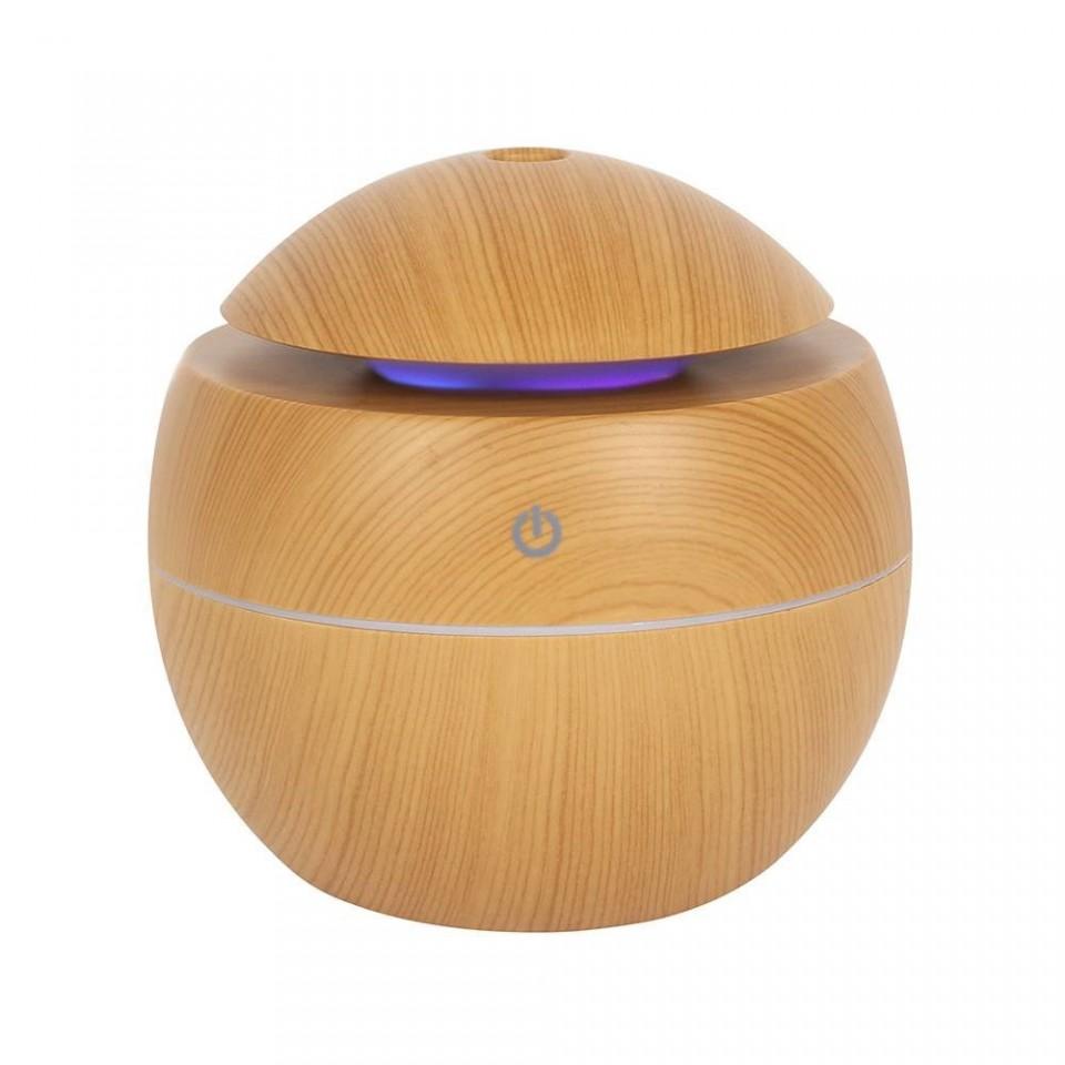 Round Wood Grain Aroma Diffuser (69738)