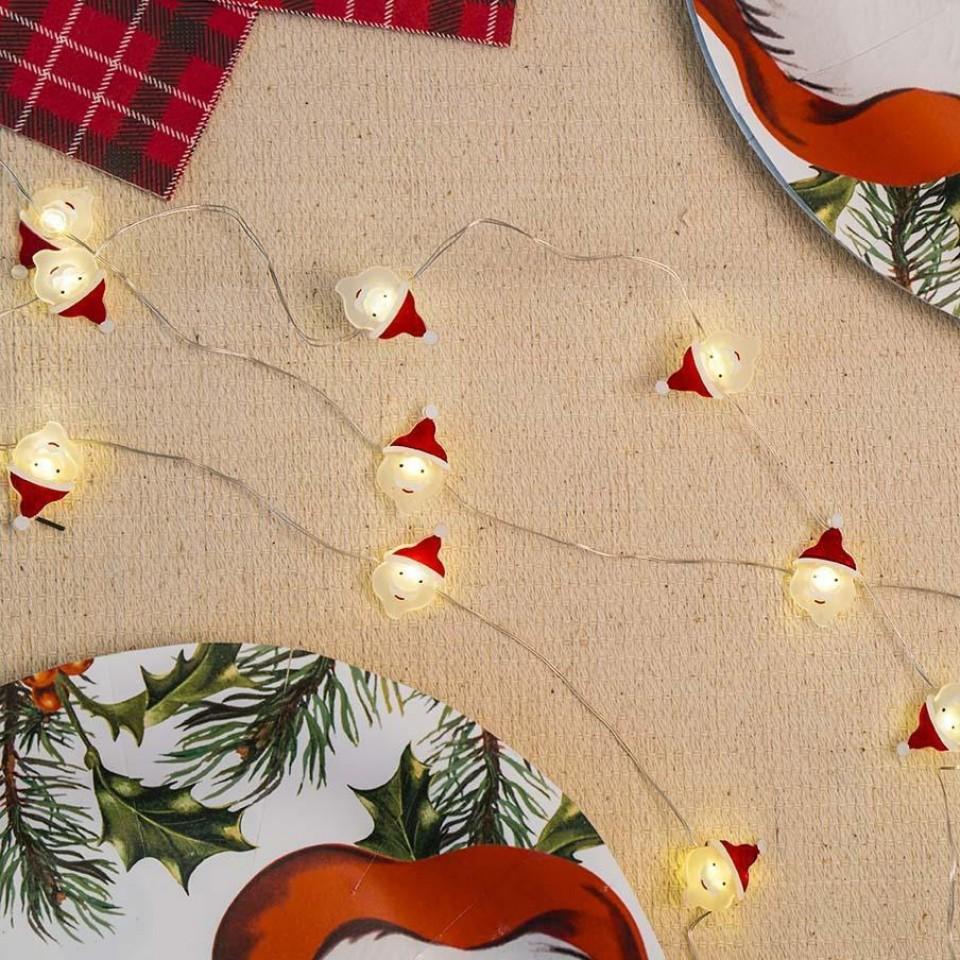 Santa Fairy Lights