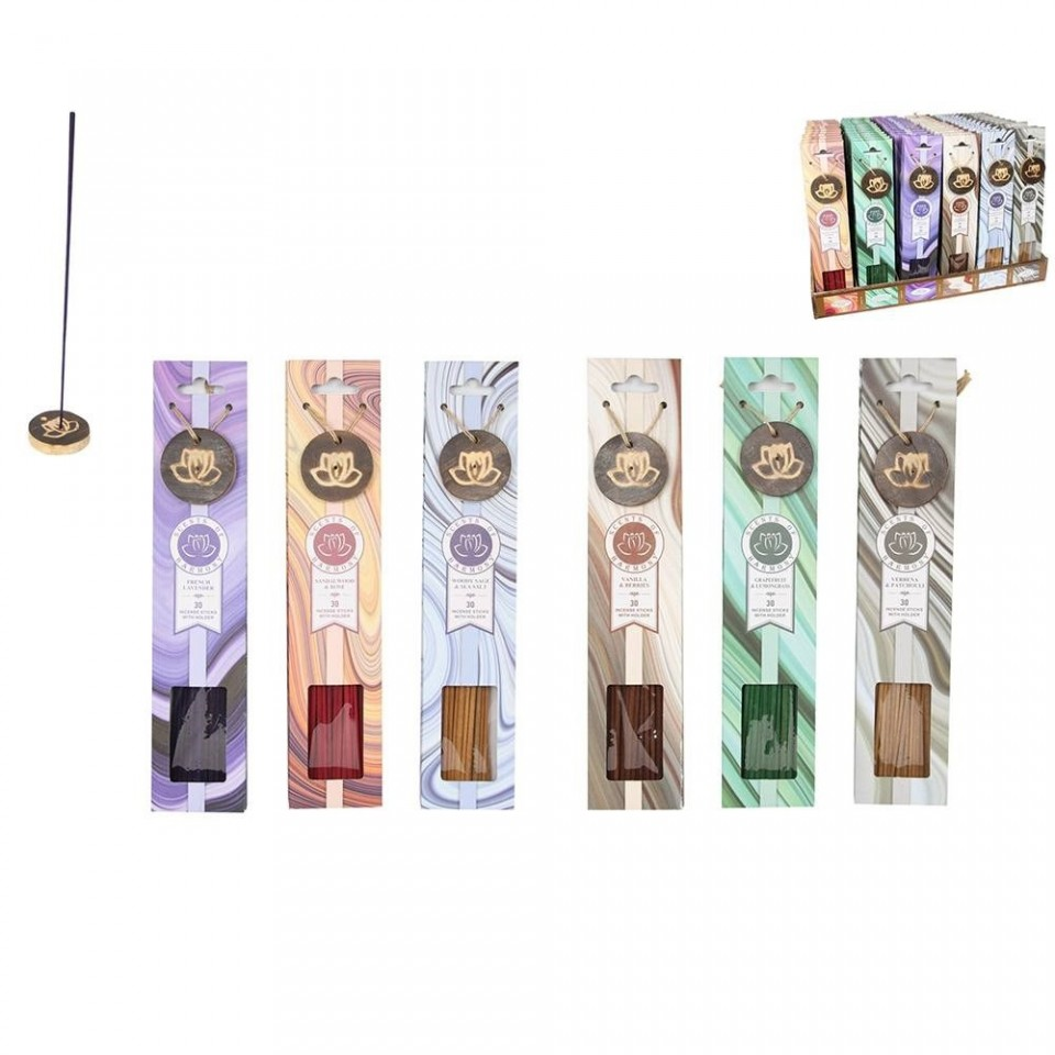 Scents of Harmony Incense Sticks Bundle (6 pack)