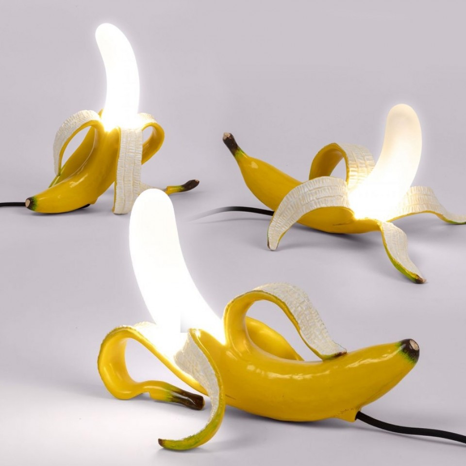 Seletti Banana Lamps - Yellow