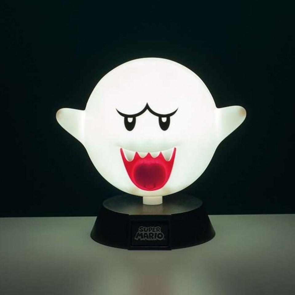 Super Mario Boo Icon Light