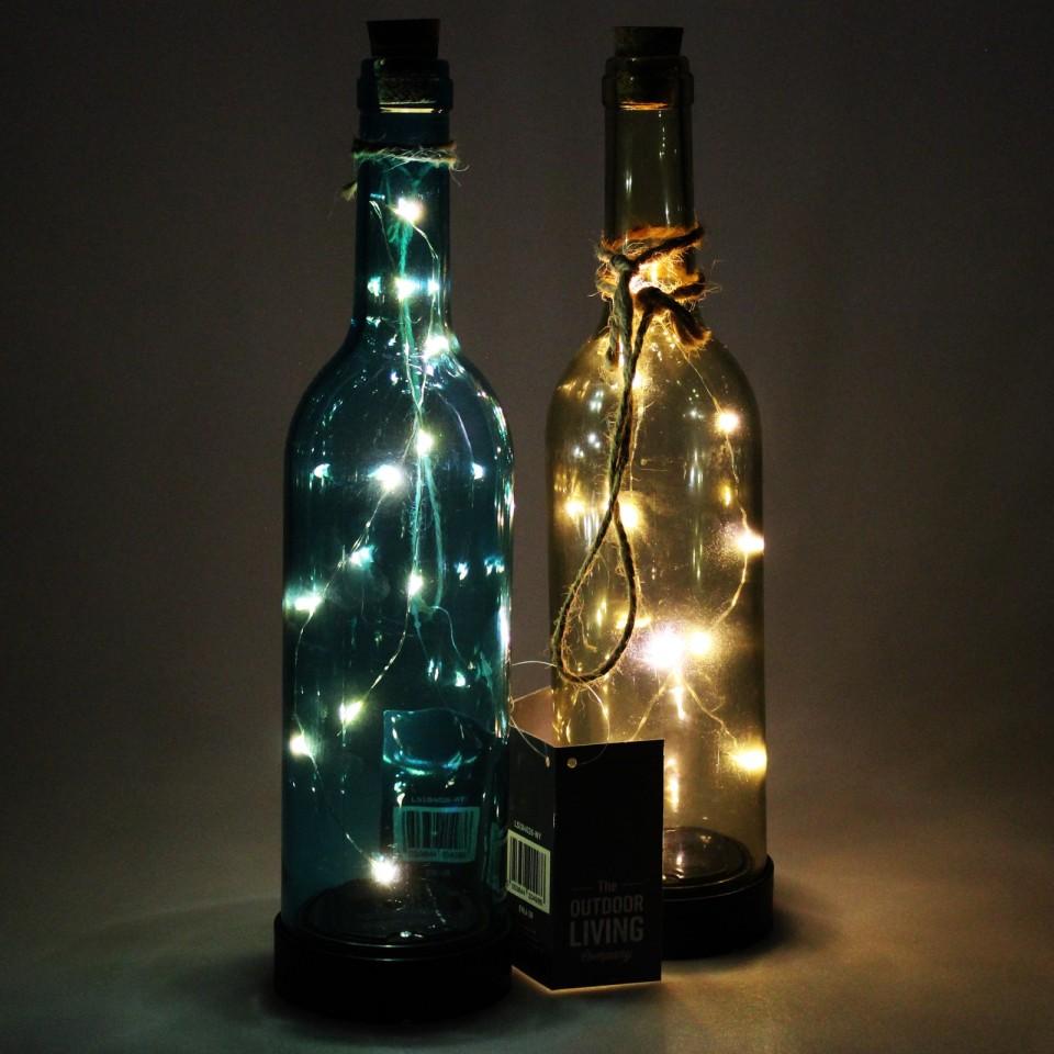 Single bottle light supplied Solar Bottle Light 31cm
