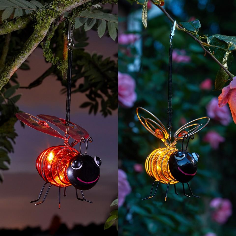 Solar Springy Bug Light
