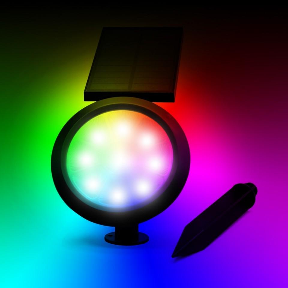 Solar Chiron RGB Spotlight