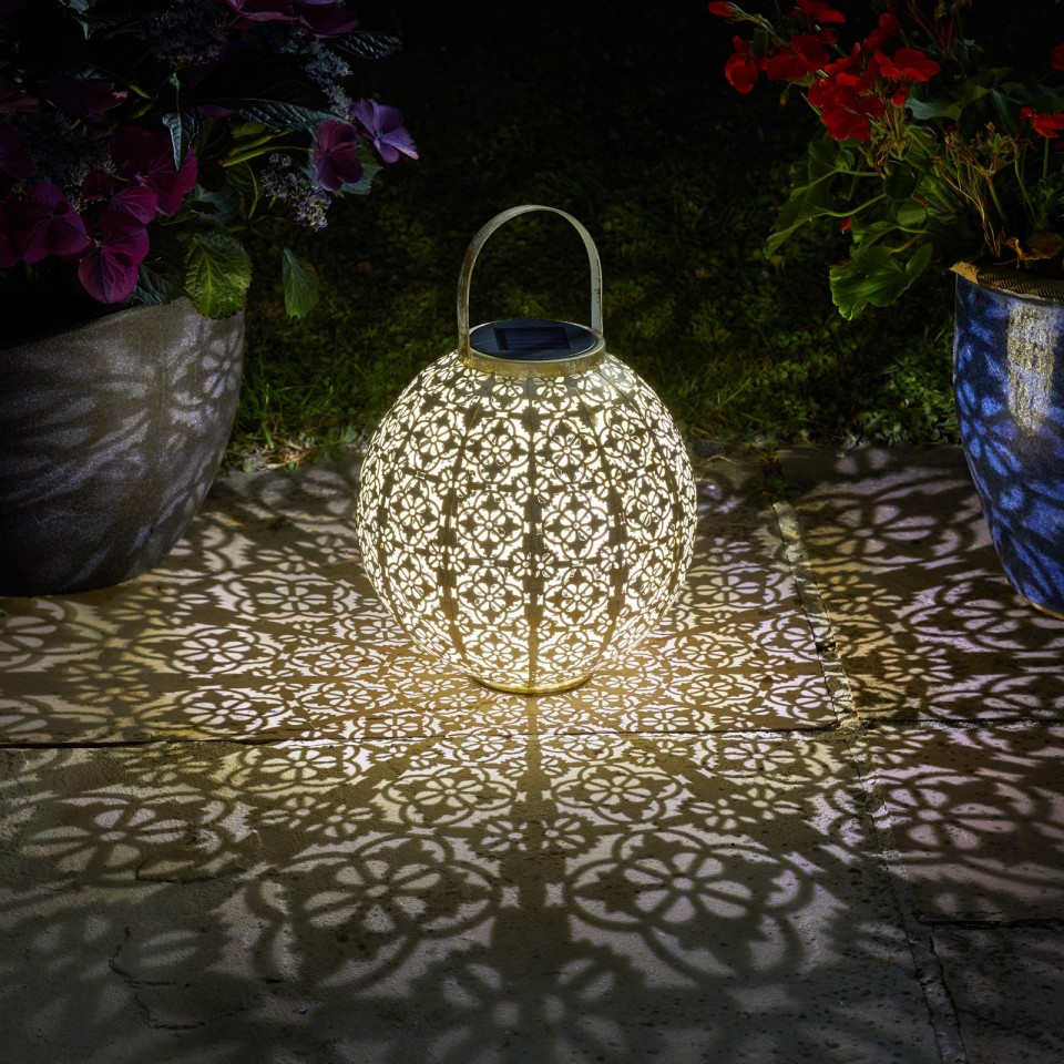 Solar Damasque Lantern Cream
