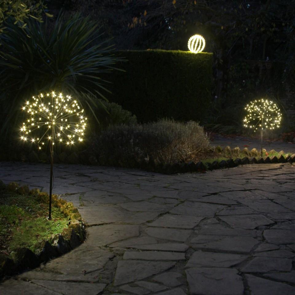 Single light supplied Solar Dandelion - Allium (single light)